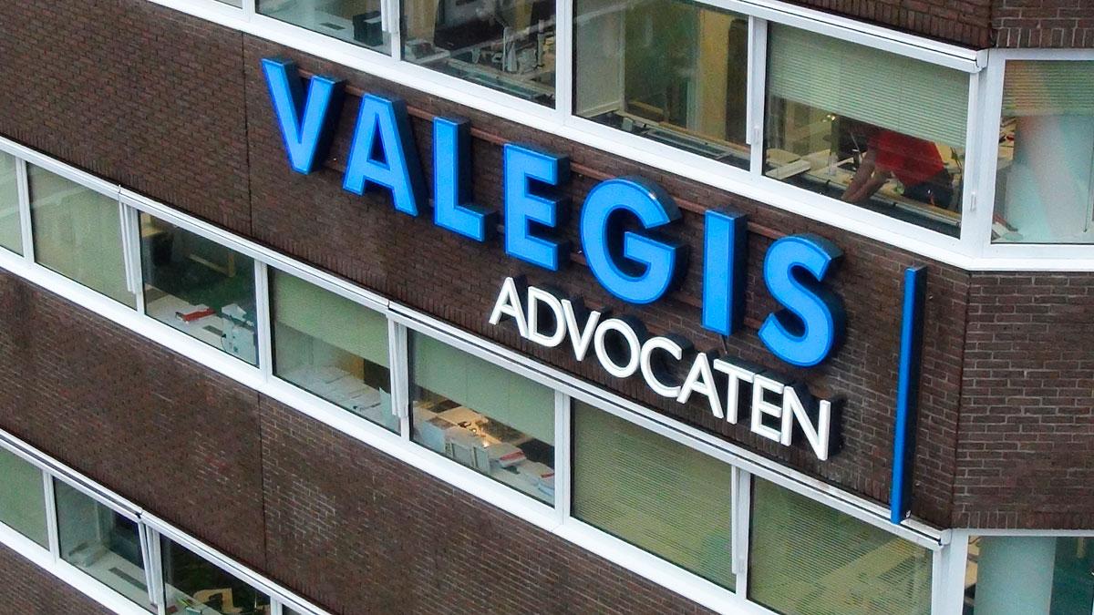 Valegis lichtreclame